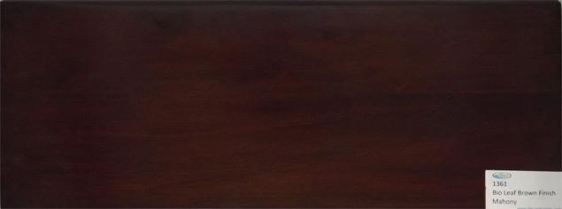 Finishing Kayu Warna Daun Coklat dengan Bahan Water Based Wood Coating