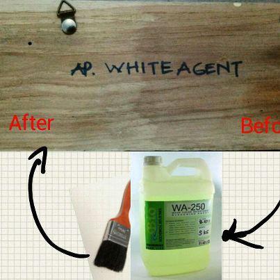 Solusi Mencerahkan Warna Kayu Menggunakan Bahan Pemutih Kayu WA-250