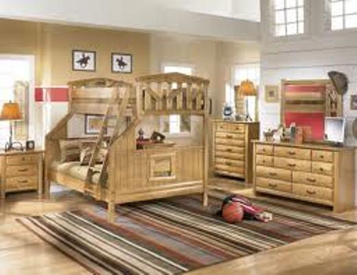 Desain Interior Kayu untuk Kamar Anak